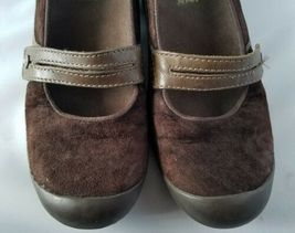Merrell Performance Plaza Bandeau Chocolate Brown Mary Janes Ortholite Shoes 8 image 3