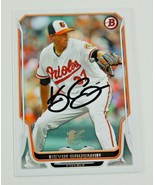 2014 Bowman Kevin Gausman Signed Autographed Baltimore Orioles - $2.99