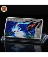 WR Virgo Zodiac Series Silver Art Bar Ingot Bullion $100 Novelty Dollar ... - $4.66