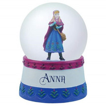 Walt Disney's Frozen Anna Standing Figure 65mm Water Globe, NEW BOXED - $26.85