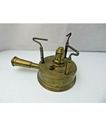 Vintage Rare Camping Stove French Brass Gasoline Burner Mid Century Modern deco - $120.00
