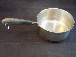 Vintage Revere Ware 1 Qt Copper Bottom Cooking Saucepan #87 - $12.86