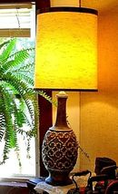 Electric Lamp with Shade Vintage AA18-1176L image 4