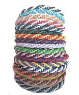 "The ""Double Twist"" Thai Wristband Handmade Waxed Cotton Thailand Bracelet - $6.49"