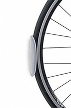Single Bike Bicycle Tire Tray Wall Mount or Self Adhesive Plastic Protec... - $11.20