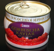 140-500g CAVIAR IKRA IKURA GORBUSHA SALMON ИКРА ЛОСОСЕВАЯ KOSHER - TOP P... - $20.90+