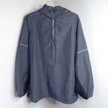 NEW Old Navy Athletic Sport Golf Gray Pullover Hooded Windbreaker Jacket... - $14.99