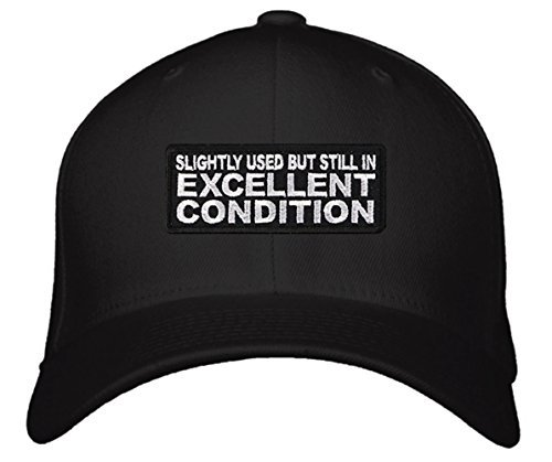 Slightly Used But Still In Excellent Condition - Funny Quote Hat - Unisex Adjust