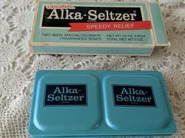 Avon Vintage Alka-Seltzer Speedy Relief Fragranced Soap NOS - $11.63