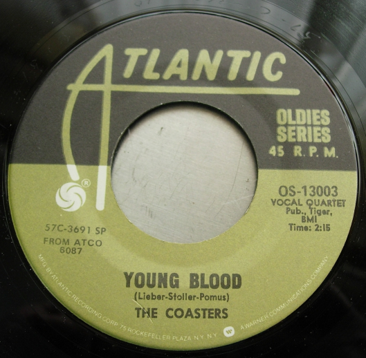 Coasters - Young Blood / Searchin' - Atlantic (Oldies Series) OS-13003