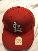 Team St. Louis Cardinals MLB 47Brand One Size Red Cap New with Tags - $24.69
