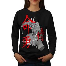 Samurai Japanese Fantasy Jumper Warrior Fight Women Sweatshirt - $18.99