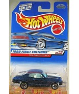 1999 Hot Wheels #915 First Editions 4/26 1970 CHEVELLE SS Blue w/Pinstripe Hood - $10.25