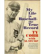 ty cobb, my life in baseball the true record baseball book first edition... - $69.99