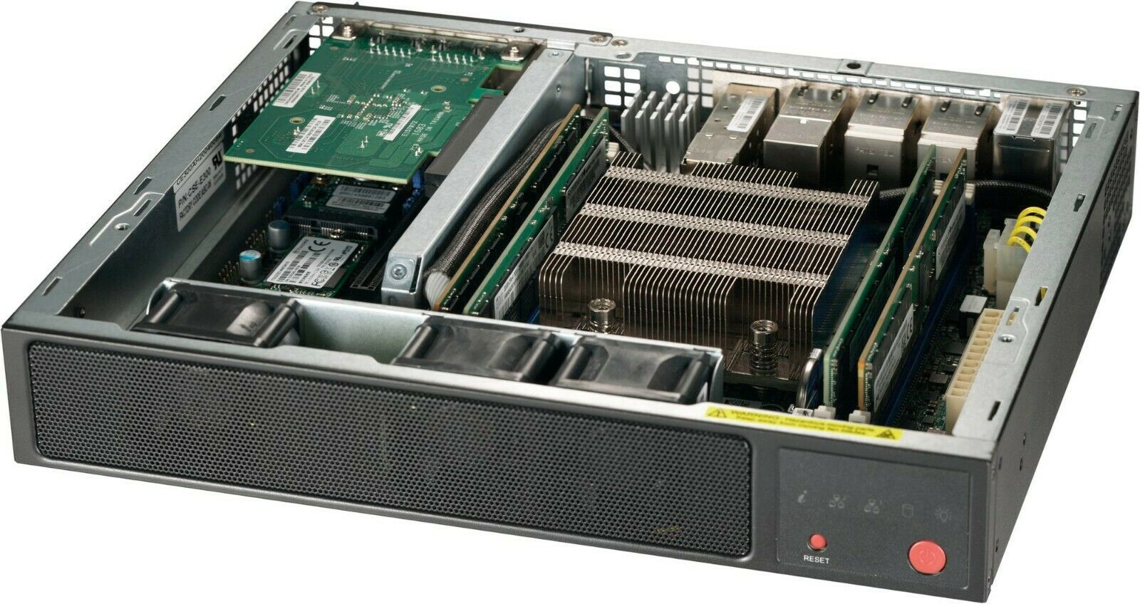 Primary image for Supermicro SuperServer E300-9D-8CN8TP Mini PC Server, Xeon D-2146NT