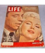 Life Magazine August 15 1960 Marilyn Monroe Cov... - $9.95
