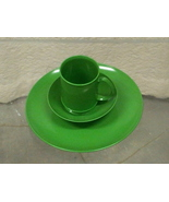 Happy Green Plastic Picnic Plates (and Cups and Bowls) - $29.99