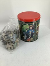 Coca Cola Puzzle Norman Rockwell 200 Pieces In Tin Container & Sealed Bag - $9.49