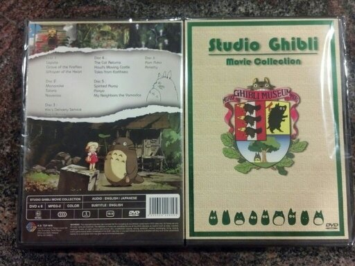 Primary image for STUDIO GHIBLI Complete 16 MOVIE Collection DVD ENGLISH DUB USA