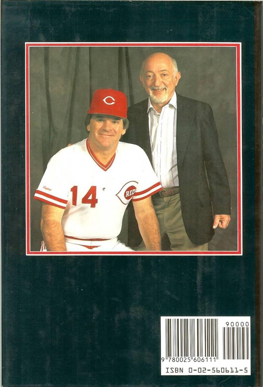 pete rose my story baseball book roger kahn 1989 first edition cincinnati reds