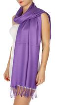 New INC International Concepts Elegant Satiny Pashmina Wrap Women's Scar... - €11,93 EUR