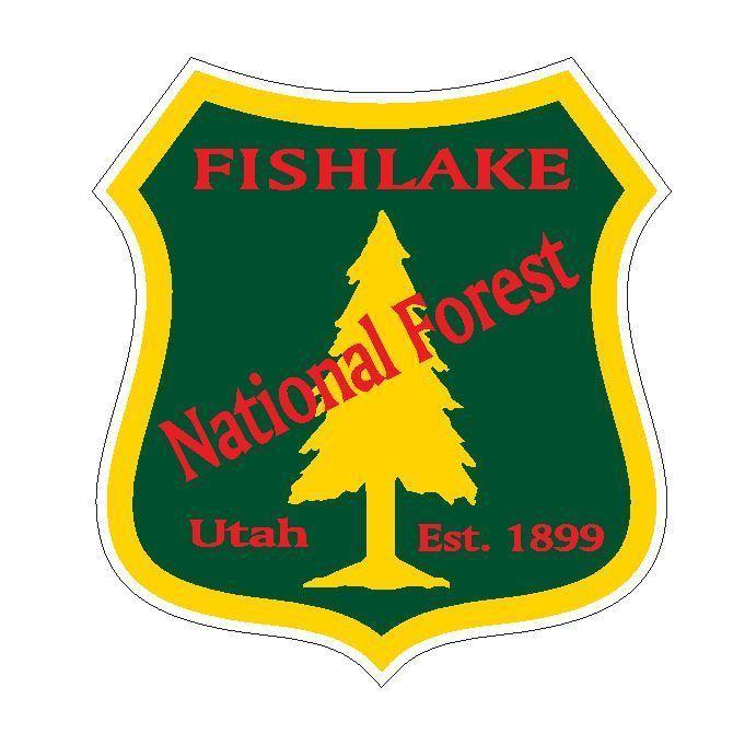Fishlake National Forest Sticker R3233 Utah YOU CHOOSE SIZE - $1.45 - $12.95