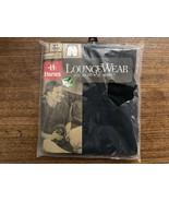 Hanes Mens Boxer Shorts Loungewear 40-42 Black Vintage 1998 NWT New - $21.38