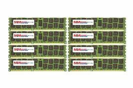 MemoryMasters 128GB (8x16GB) DDR3-1333MHz PC3-10600 ECC RDIMM 4Rx4 1.35V Registe - $296.01
