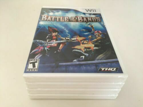 Battle of the Bands (Nintendo Wii, 2008) WII NEW FACTORY SEALED