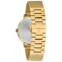 Bulova Women's Aerojet Watch Gold 35mm Stainless Steel 97M115 image 2