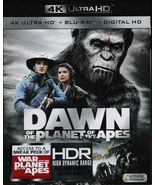 Dawn of the Planet of the Apes 4K UHD Blu-Ray Disc (2017) - $17.99