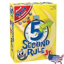 5 Second Rule Junior [New] Board Game - $29.99