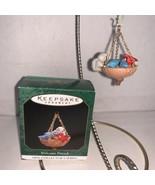 Hallmark Keepsake Ornament Miniature Welcome Friends #1 In Series 1997 - $7.50
