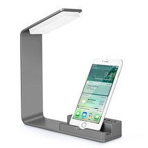 Seenda LED Desk Lamp, Eye-caring Bedside Lamp, Desk Lamp with 2 USB Char... - £35.64 GBP