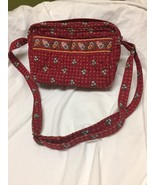 Vera Bradley purse Provincial Red retired - $19.80