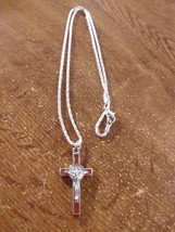 Red Cross Necklace - $13.60