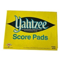 Vintage Yahtzee Score Pads (4) 1956 - 1972 in Original Box - $9.41
