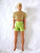 Vintage 1991 Mattel Sun Sensation Ken Barbie Boyfriend Doll Molded Hair ... - $12.38