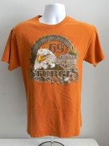 MENS MEDIUM HARLEY DAVIDSON 2009 STURGIS T SHIRT 69TH BLACK HILLS RALLY ... - $26.68