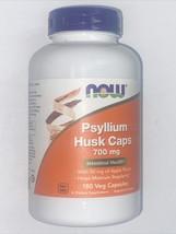 Now Foods Psyllium Husk Caps 700 mg Intestinal Health - 180 Veg Capsules... - $17.99