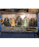 New Lord of The Rings Return of The King 5 Figure Coronation Gift Pack - $69.29