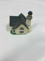 (11) Lenox American Lighthouse miniture Collection  –Cape Elizabeth  - $4.95