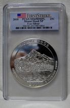 2010 PCGS MS69 DMPL FS Mount Hood 5 OZ .999 SILVER Coin America The Beau... - $279.95