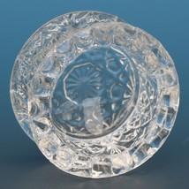 Vintage EAPG Pressed Glass Open Salt Flared image 2