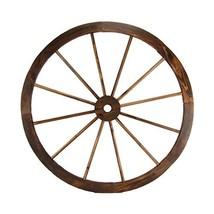 """TreasureGurus, LLC Large 32"""" Wood Wagon Wheel Outdoor Rustic Yard or Gar... - $64.01"""