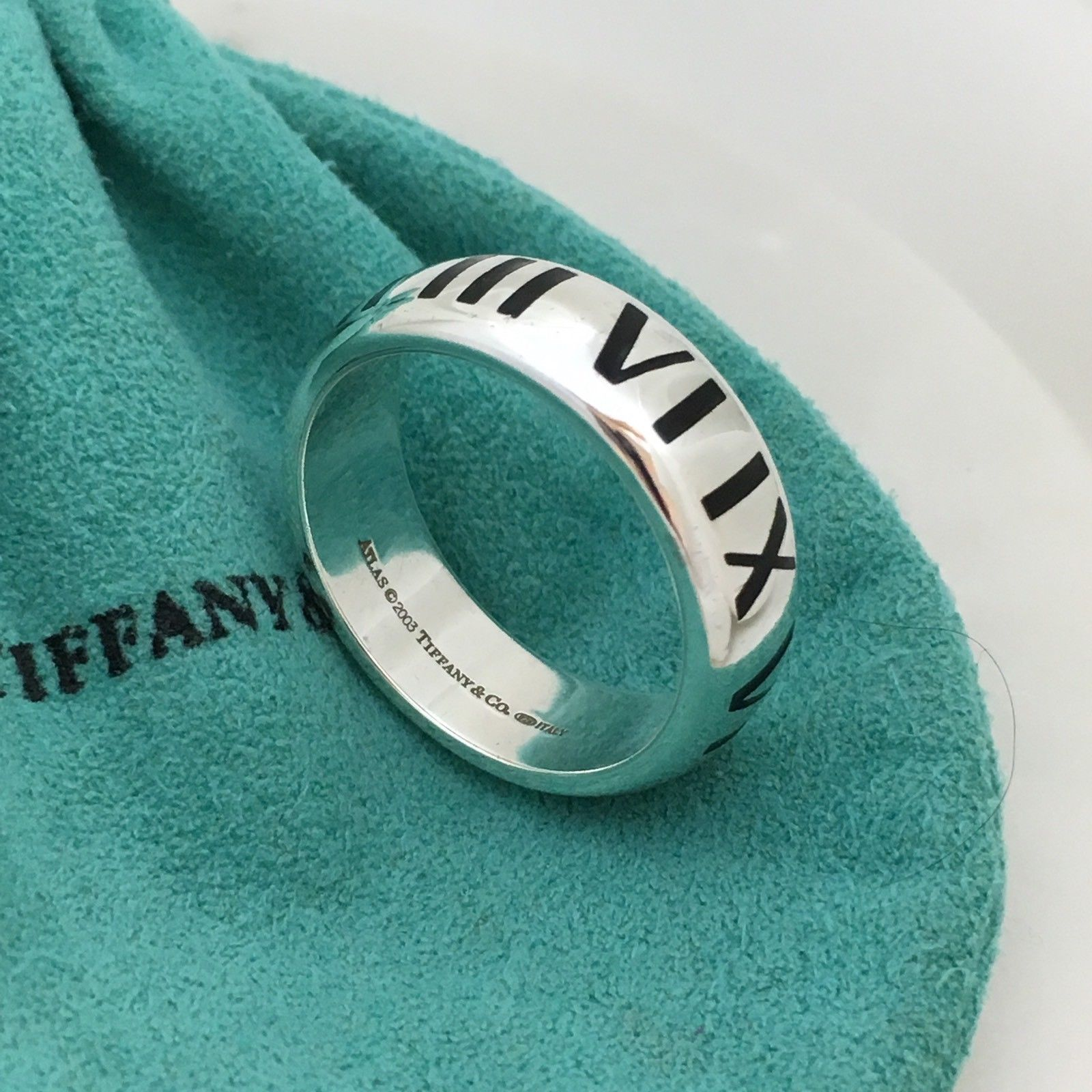 1acd17778 Tiffany & Co Men's Sterling Silver Atlas and 19 similar items. 57