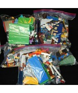 Over 8 1/2 Pounds of Lego pieces assorted lots Cleaned and Disinfected - $33.66