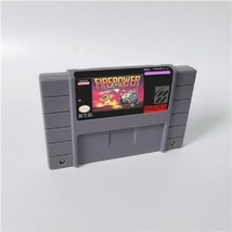 Firepower 2000 Super Nintendo SNES NTSC Cartridge Game Card USA Version ... - $21.99
