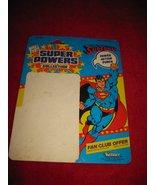 1984 Kenner/ DC Comics Super Powers Action Figure: Superman -Original Cardback - $7.00