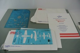 IPTM Air Crash Investigation Templates 1-5 7-1010 Instruction Manual Aer... - $48.19